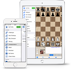 Play on Internet Chess Club on your Apple device