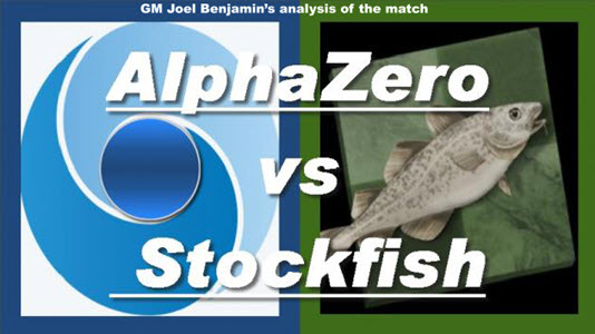 GM Joel Benjamin's analysis of the match AlphaZero vs. StockFish