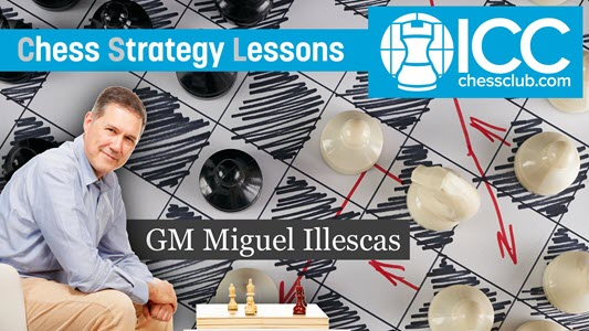 GM Miguel Illescas - Chess Strategy Lessons - Video 3