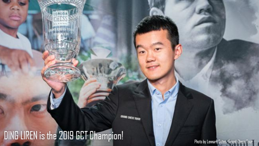 Ding Liren wins the Grand Chess Tour in London!