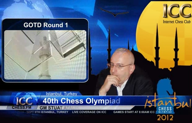 Chess Olympiad 2012 - Game Of the Day - Round 1