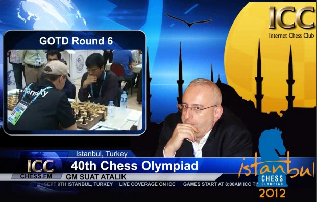 Chess Olympiad 2012 - Game Of the Day - Round 6