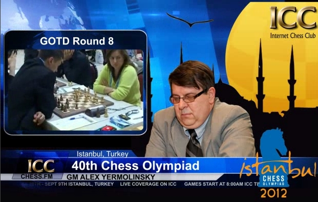 Chess Olympiad 2012 - Game Of the Day - Round 8