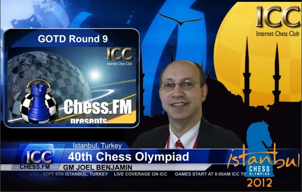 Chess Olympiad 2012 - Game Of the Day - Round 9