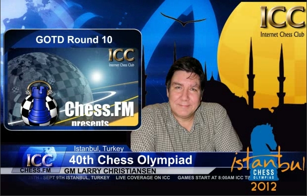 Chess Olympiad 2012 - Game Of the Day - Round 10