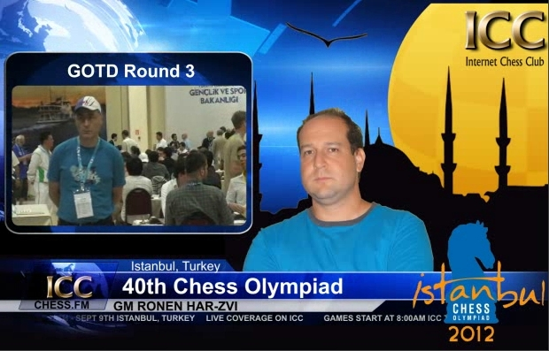 Chess Olympiad 2012 - Game Of the Day - Round 3