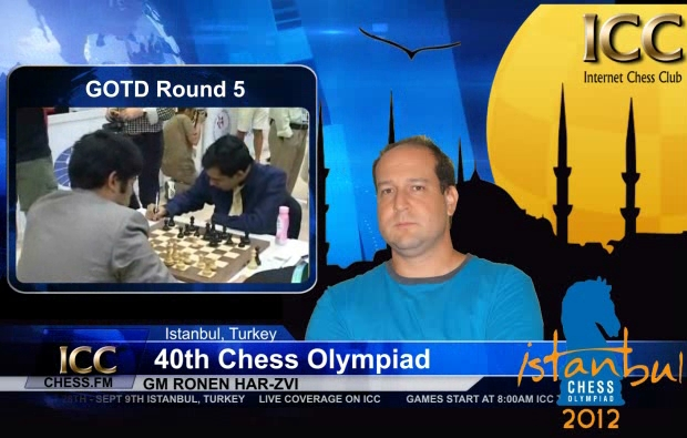 Chess Olympiad 2012 - Game Of the Day - Round 5