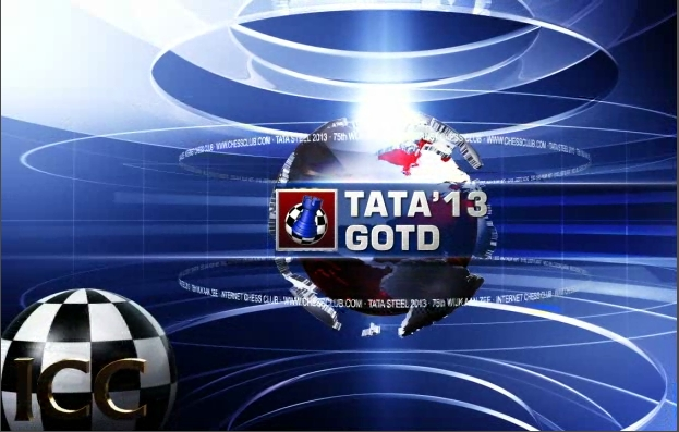 Tata Steel 2013 - Game Of the Day - Rd 4 - GM Levon Aronian vs. GM Vishy Anand