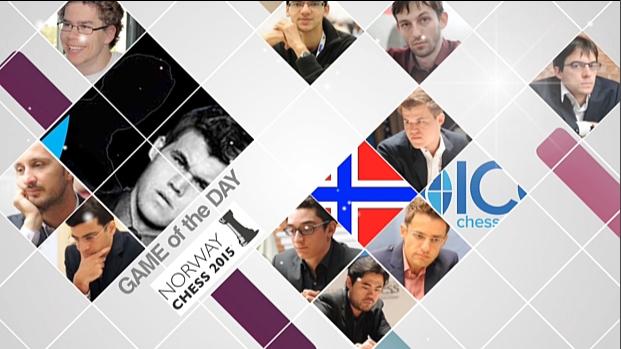 Norway chess 2015 - GOTD Round 9