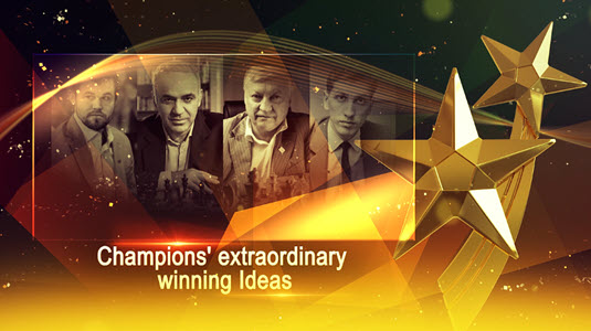 Champions' Extraordinary Winning Ideas - Video 7 - Positional Piece Sacrifice