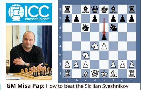 GM Misa Pap - How to beat the Sicilian Sveshnikov - Video 3: 7.Nd5 Nd5 8.ed5 Ne7 - Model Games