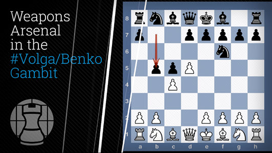 "GM Misa Pap's ""Volga Benko Gambit"" - Attacking the e4-d5 pawn duo"