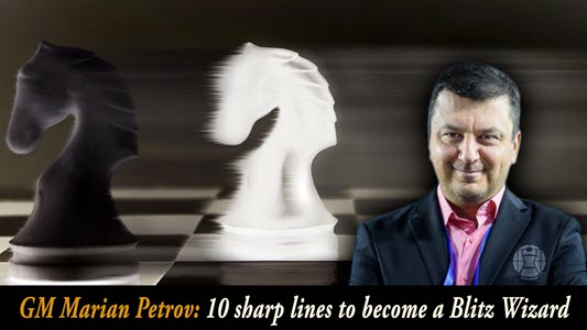 GM Petrov's 10 Sharp Lines to become a Blitz Wizard - Vd3: Smith-Morra Gambit