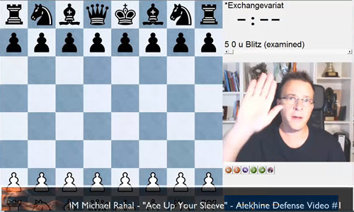 IM Rahal Ace up Your Sleeve - Alekhine Exchange Variation 1