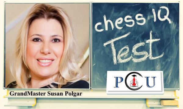 Susan Polgar's Chess IQ