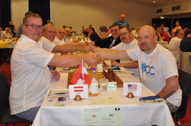 The US won the World Chess Senior Team Championship!