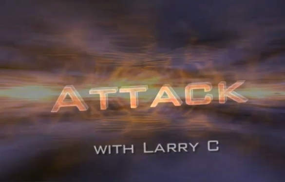 Attack with LarryC: Double Rook Sac #2