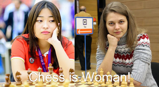 Chess is Woman!