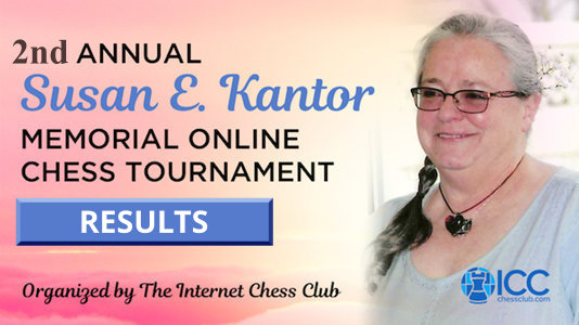 2nd Annual Susan Kantor Memorial Tourney results