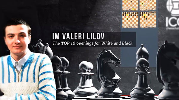 IM Lilov's Top Openings for White and Black - King's Indian Attack