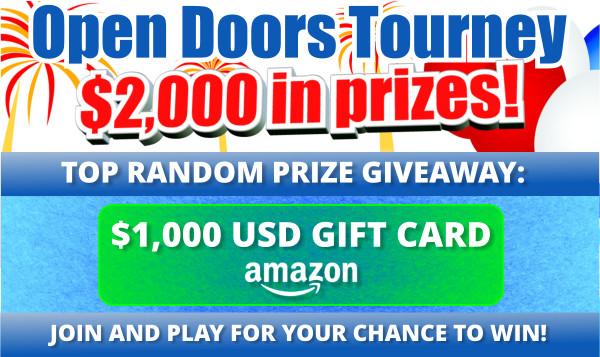 ICC Open Doors Blitz Tournament!