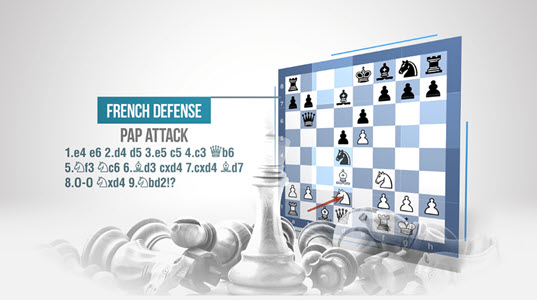 Play the Pap Attack! - 9…Bc5