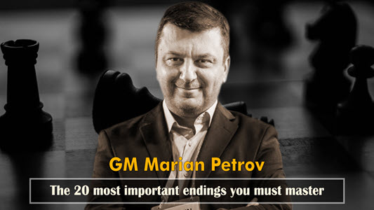 GM Petrov's 20 Endings you must master - Video 1: Pawn endgames - part 2