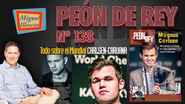 Peón de Rey nº 138 (ene-feb 2019) GM Miguel Illescas