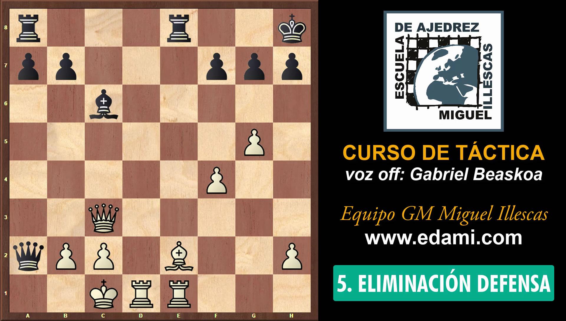 Curso de Táctica de ajedrez EDAMI #06 - La Obstrucción