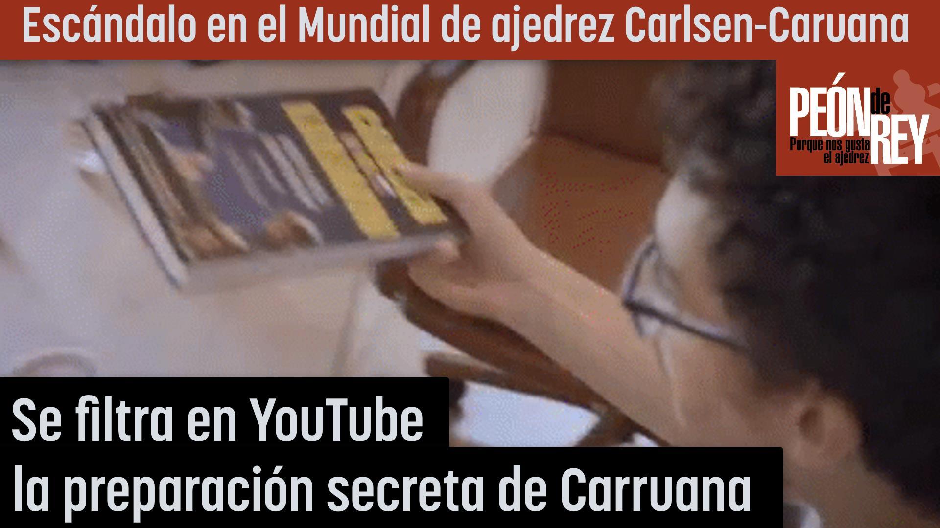 Escándalo en el Mundial de ajedrez Carlsen - Caruana