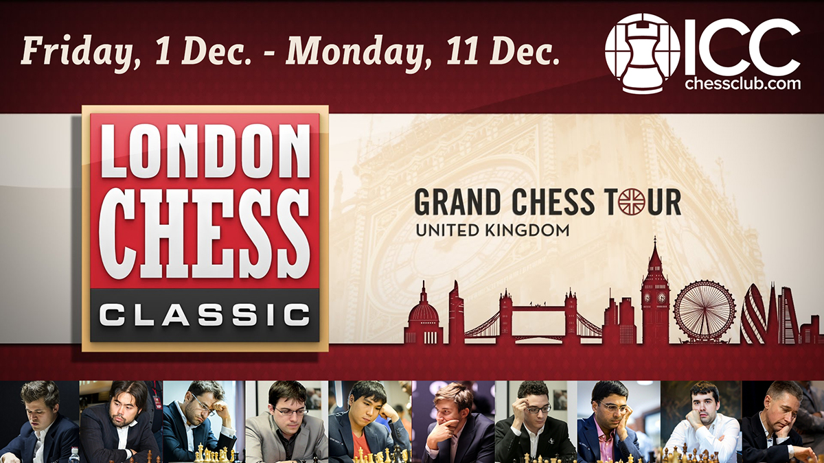 London Chess Classic 2017 - resumen R1-3 (GM José González)