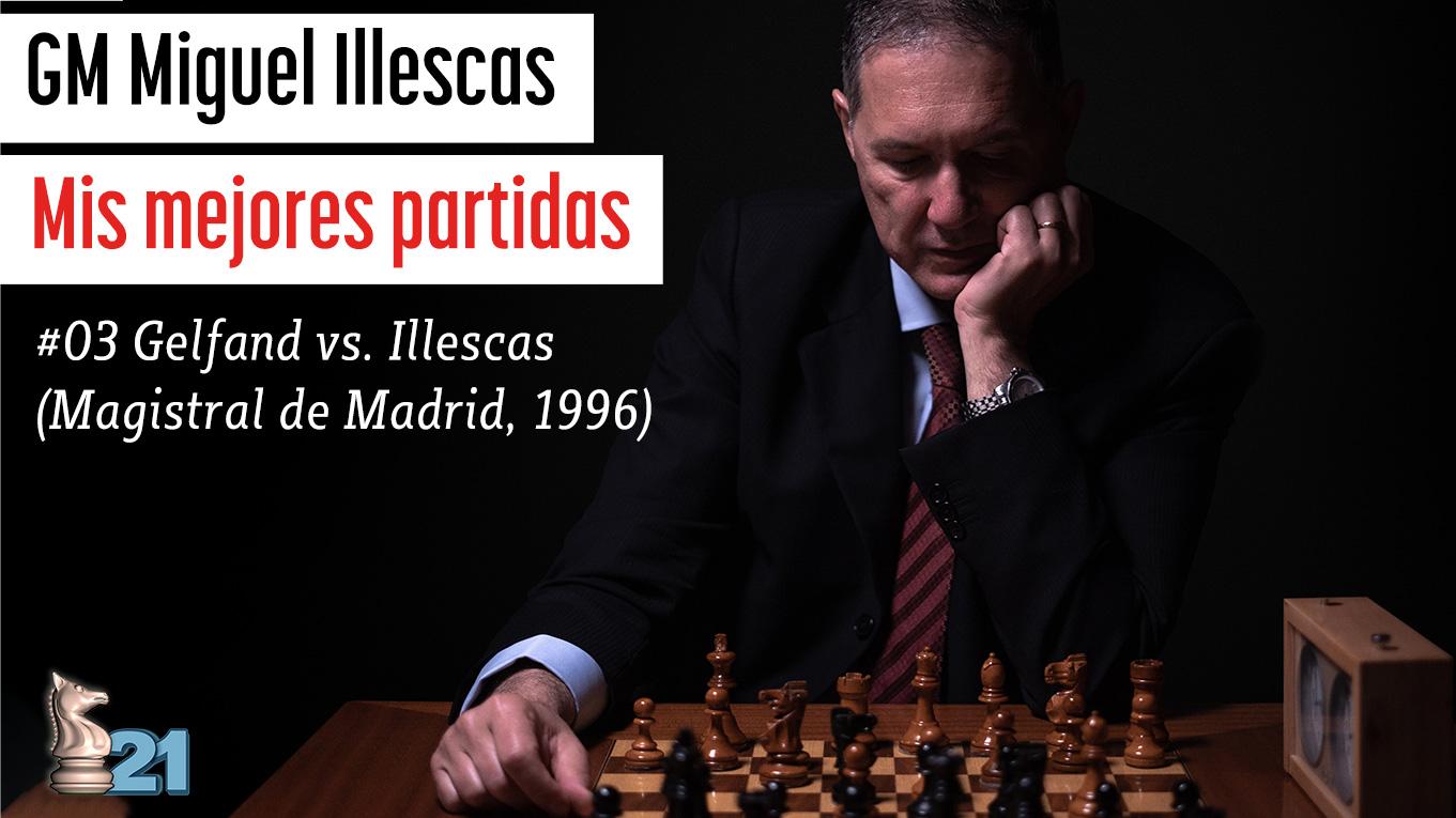 Mis mejores partidas #03 (Gelfand vs Illescas)
