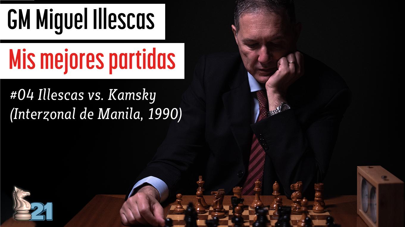 Mis mejores partidas #04 - Illescas vs Kamsky