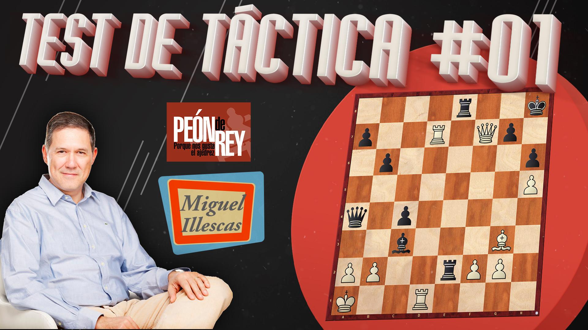Ajedrez: Test de táctica #01