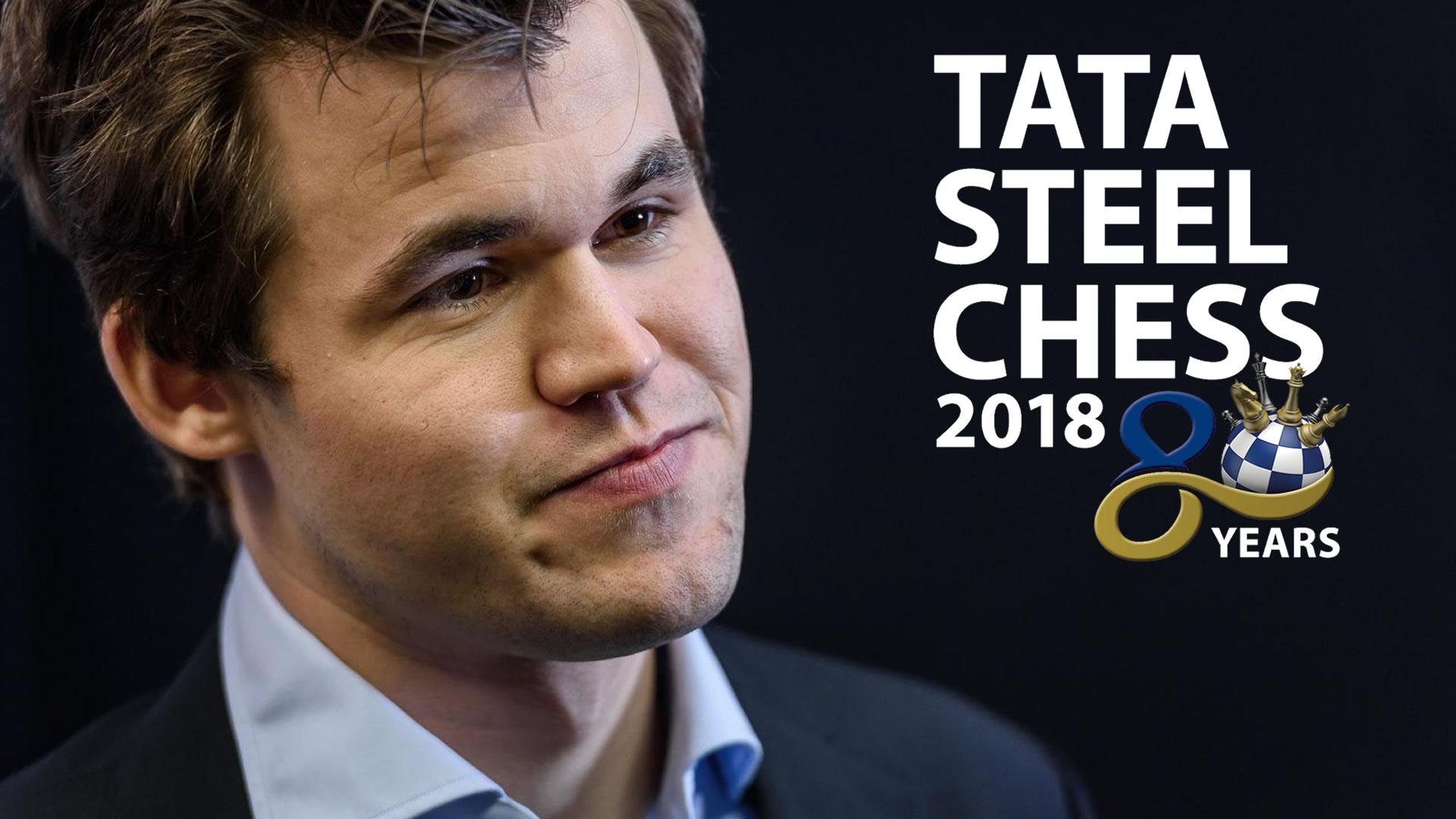 TATA STEEL 2018 - resumen R11-13 final + desempate (GM José González)